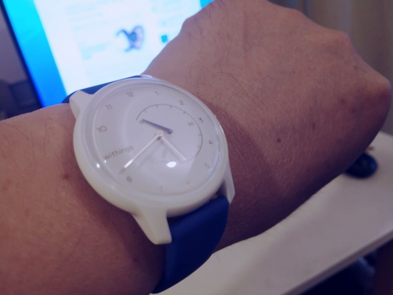 Withings Move ファーストインプレッション アプリ初期設定